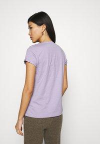 edc by Esprit - SLUB TEE - Basic T-shirt - lilac - 2