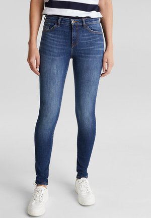 MIT ORGANIC COTTON - Jeans Skinny Fit - blue dark washed