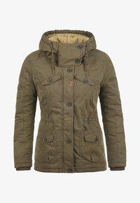 Desires - WINTERJACKE LEWANA - Winter jacket - khaki - 6