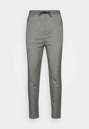 PANTS CROPPED - Tygbyxor - white/black