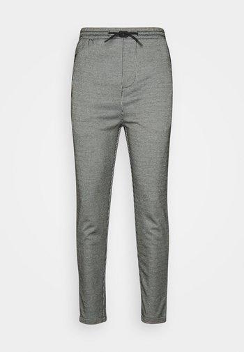 PANTS CROPPED - Kalhoty - white/black