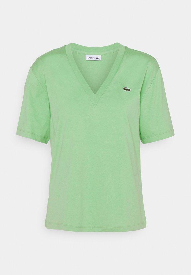 Basic T-shirt - evergreen