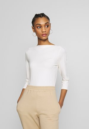 ONLLIVE LOVE  - Long sleeved top - cloud dancer