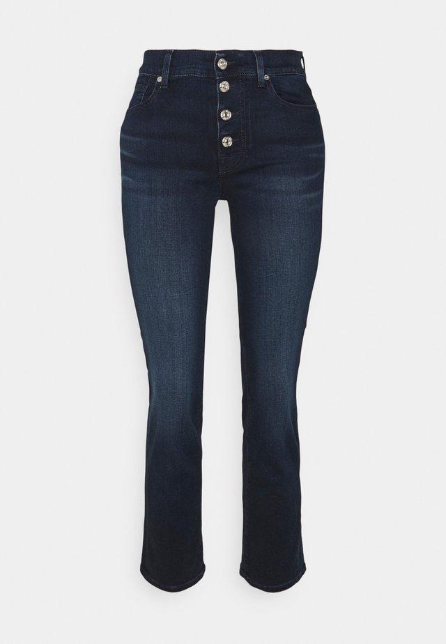 THE STRAIGHT CROP - Jeans a sigaretta - dark blue