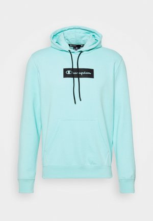 HOODED - Sweater - turquoise