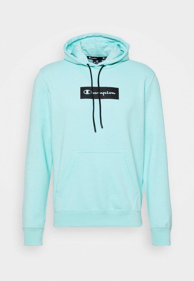 HOODED - Sweatshirt - turquoise