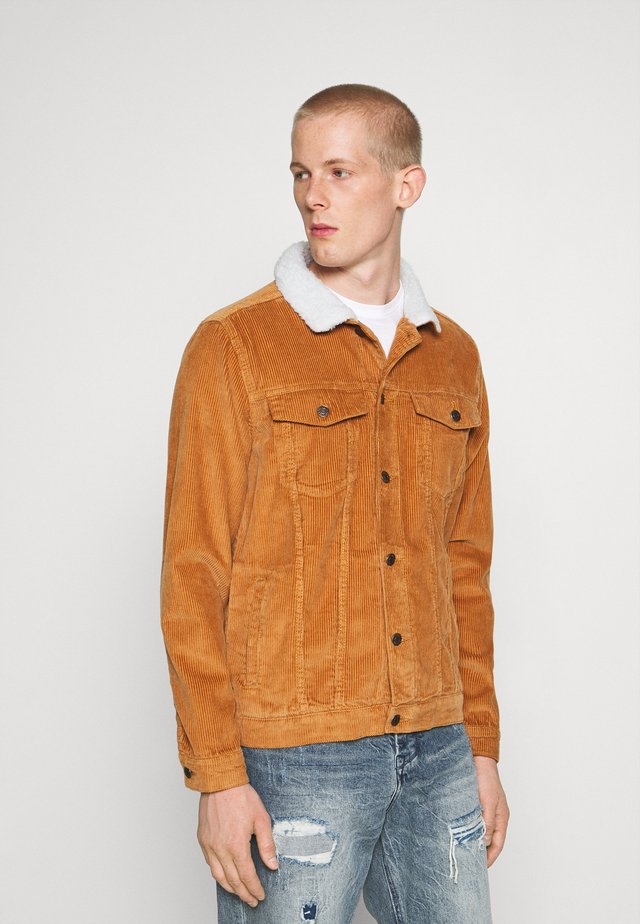 TEDDY JACKET - Korte jassen - brown