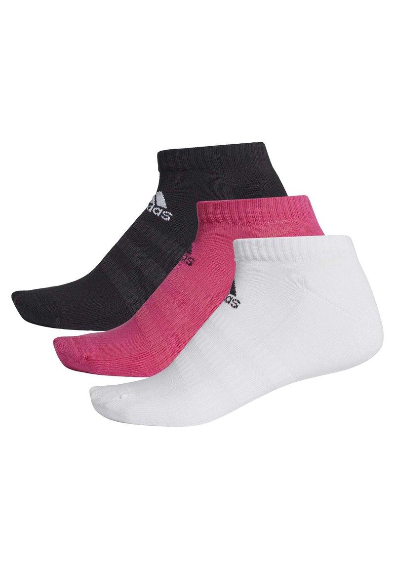 adidas Performance - CUSHIONED LOW-CUT SOCKS 3 PAIRS - Sports socks - burgundy
