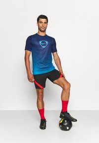 Nike Performance - ACADEMY - Print T-shirt - blue void/imperial blue - 1