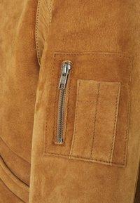 Serge Pariente - KENNEDY - Leather jacket - camel - 7