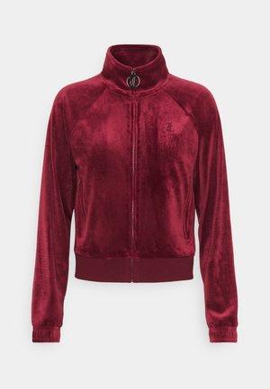 TANYA - Zip-up hoodie - cabernet
