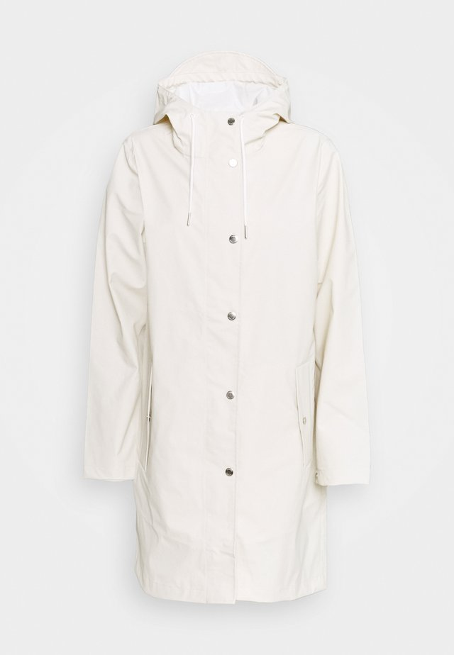 STALA JACKET - Waterproof jacket - warm white