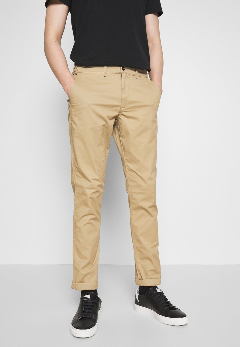 Abercrombie & Fitch - BASIC - Chinos - beige