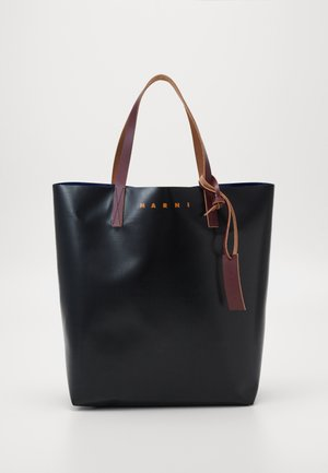 UNISEX - Tote bag - black/eclipse/eggplant