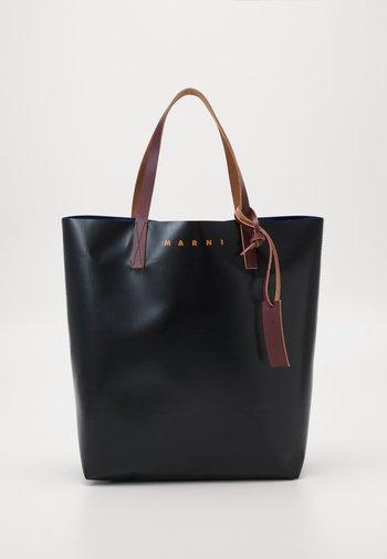 UNISEX - Tote bag - black/eclipse/eggplant