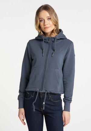 Zip-up hoodie - rauchmarine