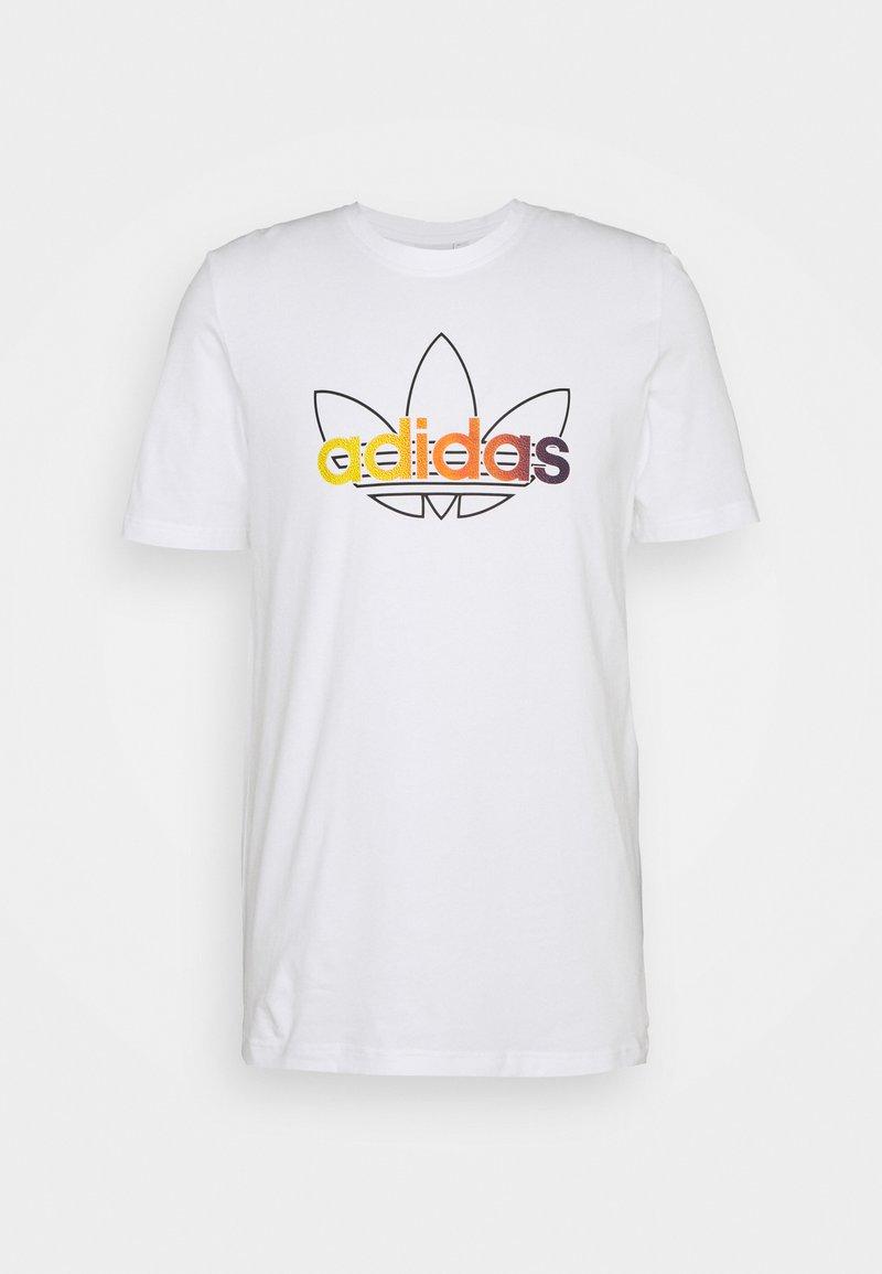 adidas Originals - GRAPHIC UNISEX - Print T-shirt - white/multicolor