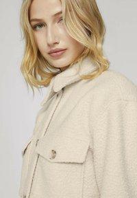 TOM TAILOR DENIM - Fleece jacket -  beige - 3