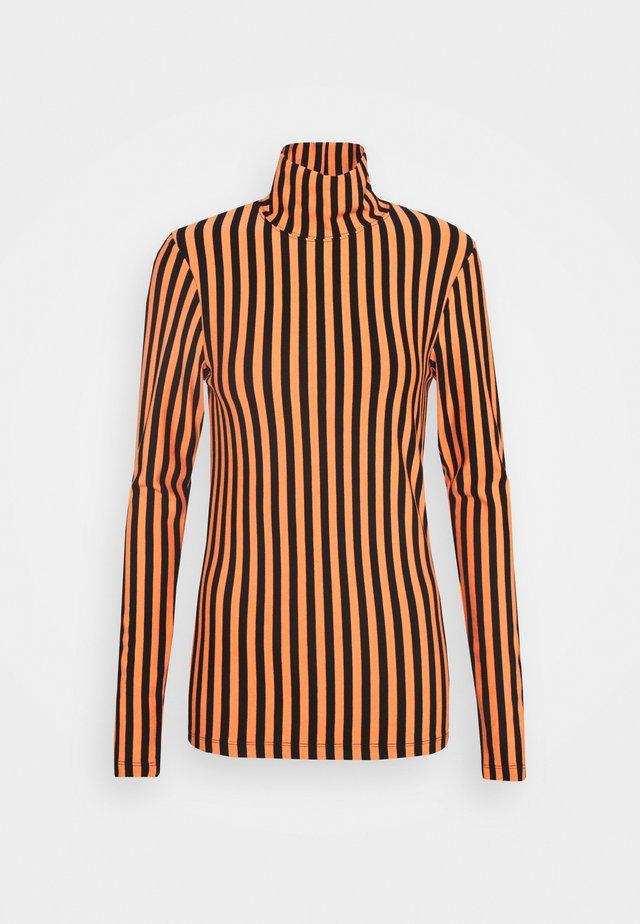 RAJ - T-shirt à manches longues - nectarine