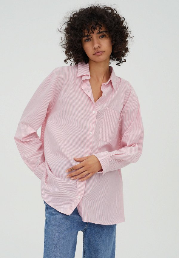 PULL&BEAR Koszula - rose/jasnorÓżowy HTLU
