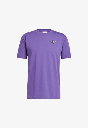 STILL LIFE SUMMER SHORT SLEEVE T-SHIRT - T-shirt med print - purple