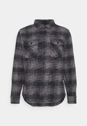 BOWERY RESERVE - Shirt - black/grey mix