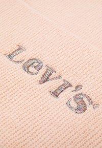 Levi's® - MODERN VINTAGE LOGO BEANIE HOLIDAY EXPRESSION UNISEX - Beanie - light pink - 2
