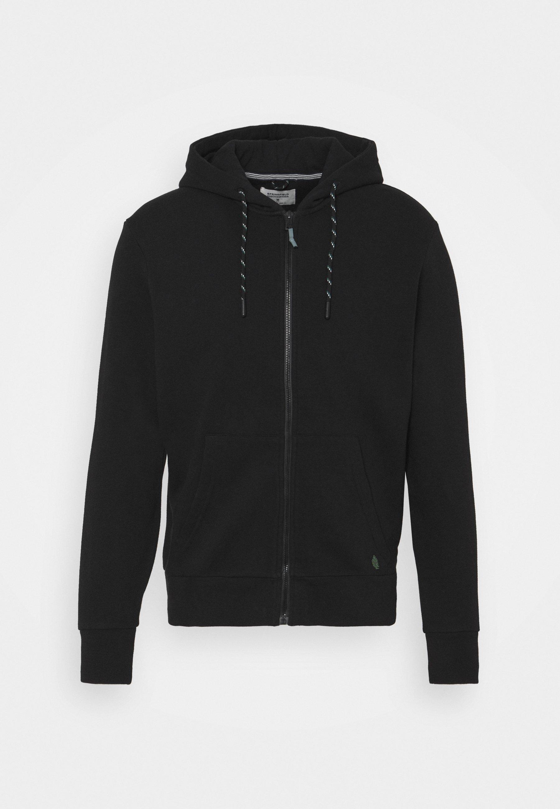 Men BASICA ABIERTA - Zip-up sweatshirt
