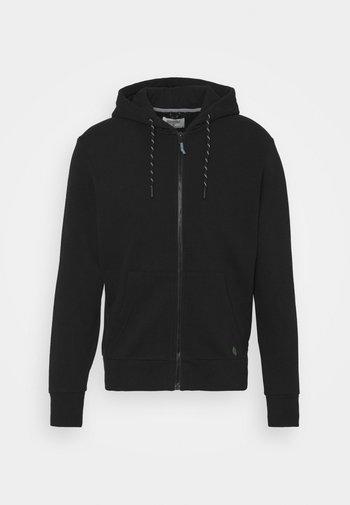BASICA ABIERTA - Zip-up hoodie - black
