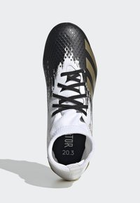 adidas Performance - PREDATOR 20.3 FOOTBALL BOOTS MULTI GROUND - Moulded stud football boots - ftwwht/goldmt/cblack - 1