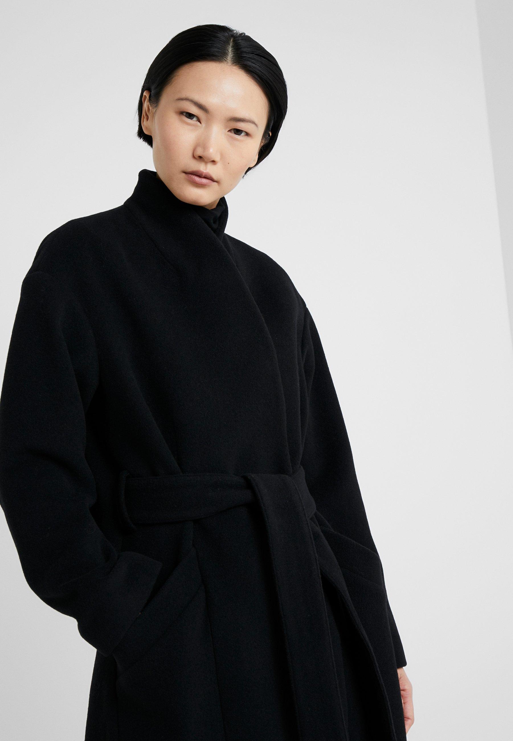 Dagmar Alida Coat Black   Oxholm