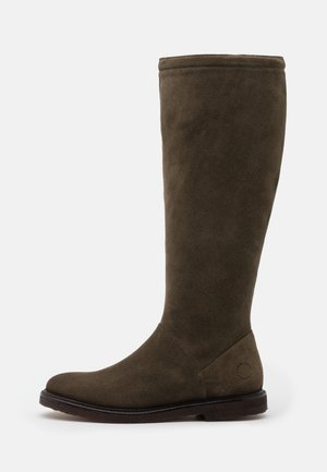 Stiefel - olive