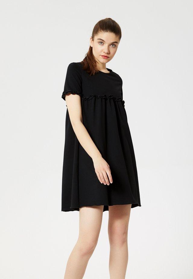 Vestito di maglina - noir