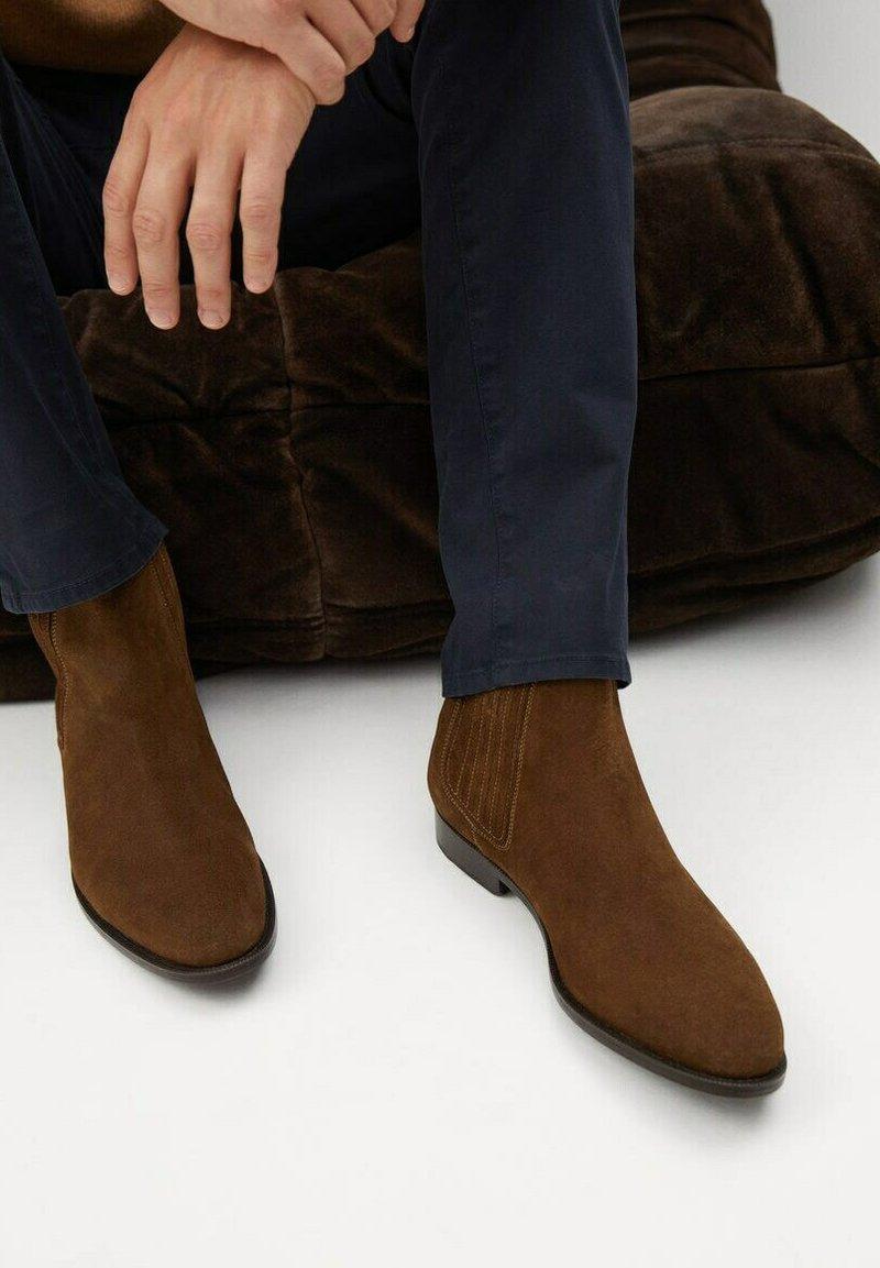 Mango - Classic ankle boots - marron