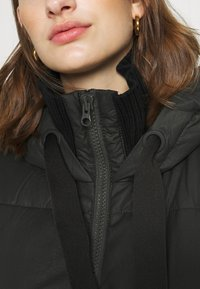 Sisley - HEAVY JACKET - Winter coat - black - 5