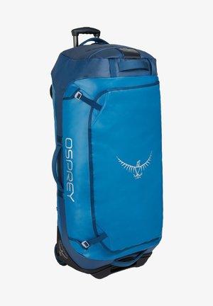 Wheeled suitcase - kingfisher blue