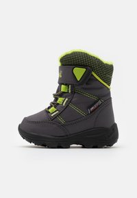 Kamik - STANCE UNISEX - Winter boots - charcoal/lime - 0
