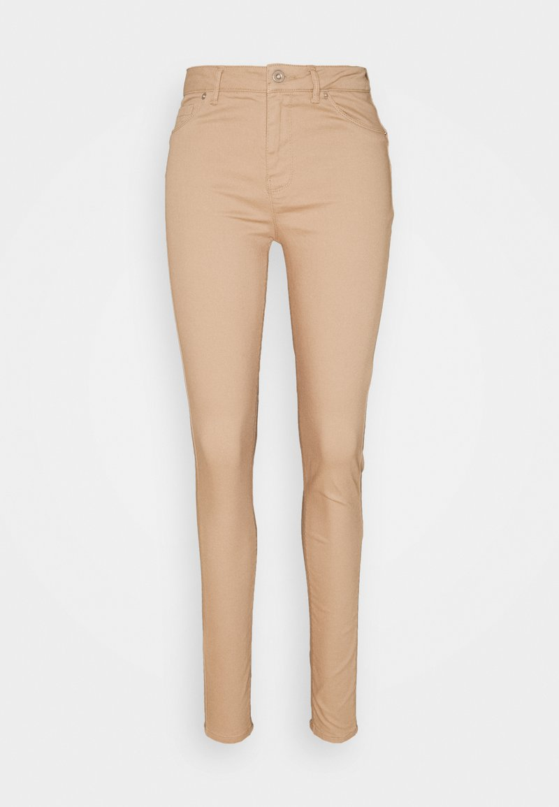 Vero Moda Tall - VMHOT SEVEN PANT - Trousers - nude
