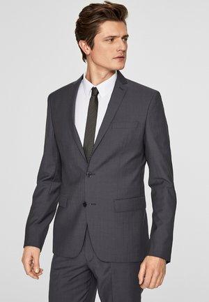 Blazer jacket - grey dots