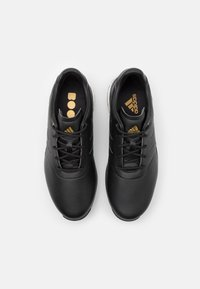 adidas Golf - PERFORMANCE CLASSIC - Golf shoes - core black/gold metallic - 3