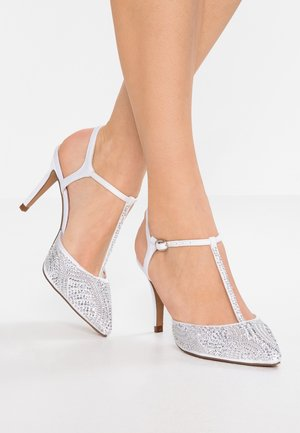 Klassiske pumps - white