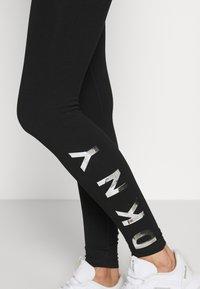 DKNY - LEGGING LOGO - Leggings - black - 4