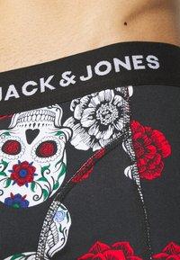 Jack & Jones - JACSKULL LEFT TRUNKS 3 PACK - Slip - black - 4