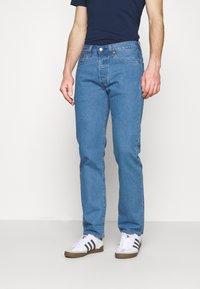 Levi's® - 501 ORIGINAL FIT UNISEX - Jeans a sigaretta - light indigo flat finish - 0