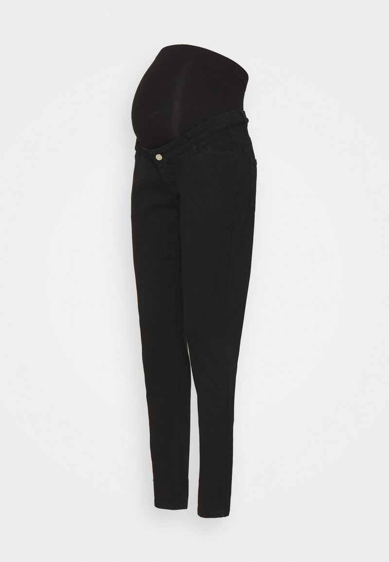 Missguided Maternity - MATERNITY WRATH - Straight leg jeans - black