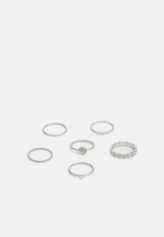 DAISY 6 PACK - Ring - silver-coloured