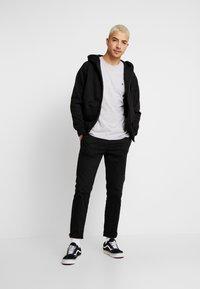 Volcom - STONE BLANKS - Basic T-shirt - mottled light grey - 1