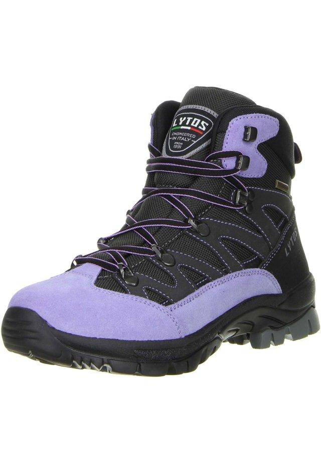 Hiking shoes - schwarz/lila