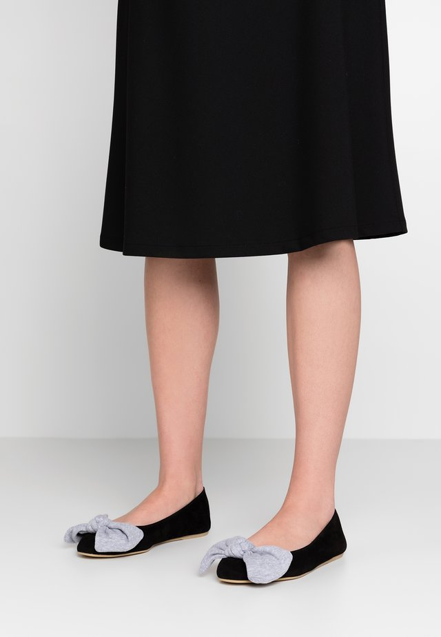 LOLLIPOP WIDE FIT - Ballet pumps - black