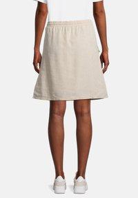 Cartoon - A-line skirt - nature melange - 2